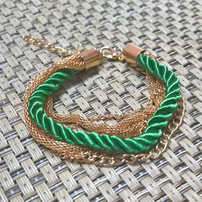 Fashion Rope Chain Decoration Bracelet - 7 Colors - [neshe.in]