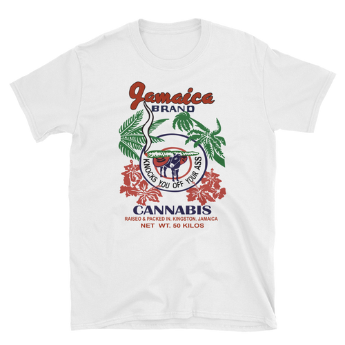 Mens - Jamaica Marijuana Short Sleeve Shirt
