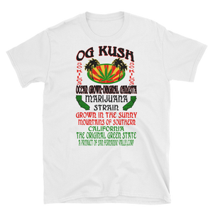 Mens - OG Kush Marijuana Short Sleeve Shirt