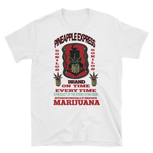 Mens - Pineapple Express Marijuana Short Sleeve Shirt