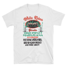 Mens - White Rhino Marijuana Short Sleeve Shirt