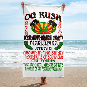 OG Kush - Beach Towel