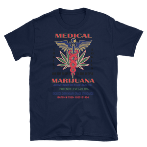 Mens - Medical Marijuana Short Sleeve Shirt