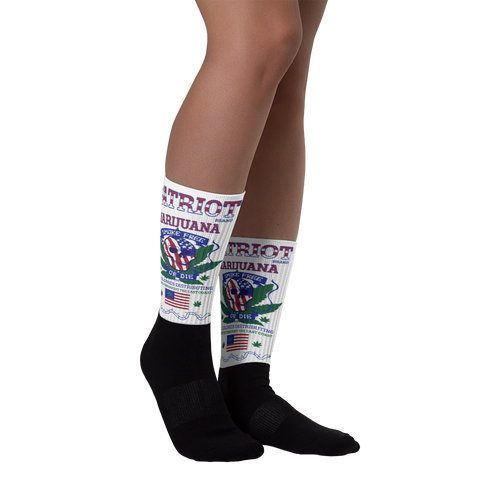 Patriot Marijuana - Socks