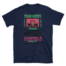 Mens - Train Wreck Marijuana Short Sleeve Shirt