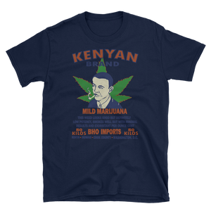 Mens - Obama Marijuana Short Sleeve Shirt