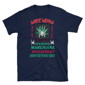 Mens - White Widow Marijuana Short Sleeve Shirt