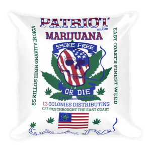Patriot Marijuana - Square Pillow