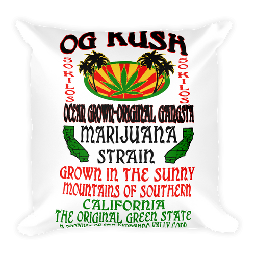 OG Kush - Square Pillow