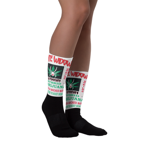 White Widow - Marijuana Socks
