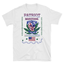 Mens - Patriot Brand Marijuana Short Sleeve Shirt
