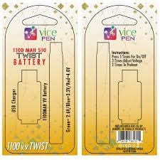 VICE PEN TWIST BATTERY