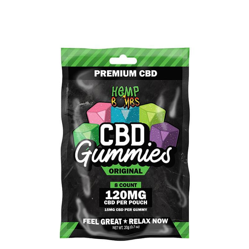 HEMP BOMB 120MG GUMMIES