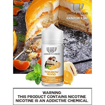 UNIQUE E-LIQUID (Assorted Flavor) 100ML
