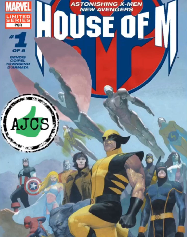 AJCS review Astonishing X-Men New Avengers: House of M