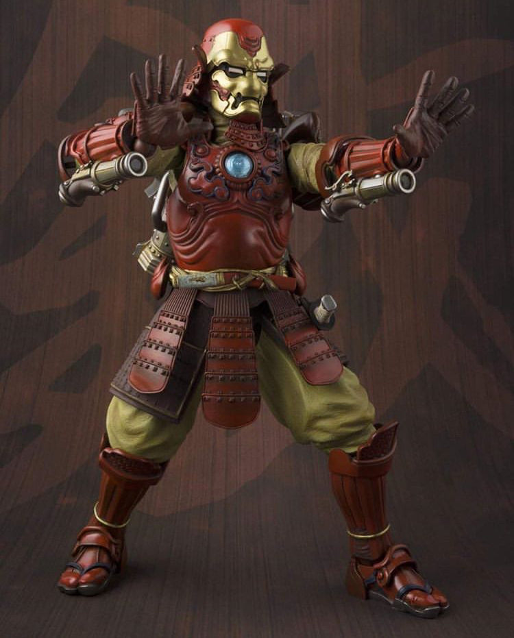 Bandai Tamashii Nations Manga Realization Samurai Iron Man