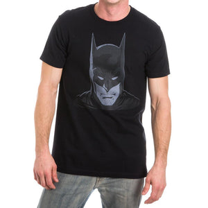 DC Comics Batman Head Gotham Black Tee Shirt T-Shirt