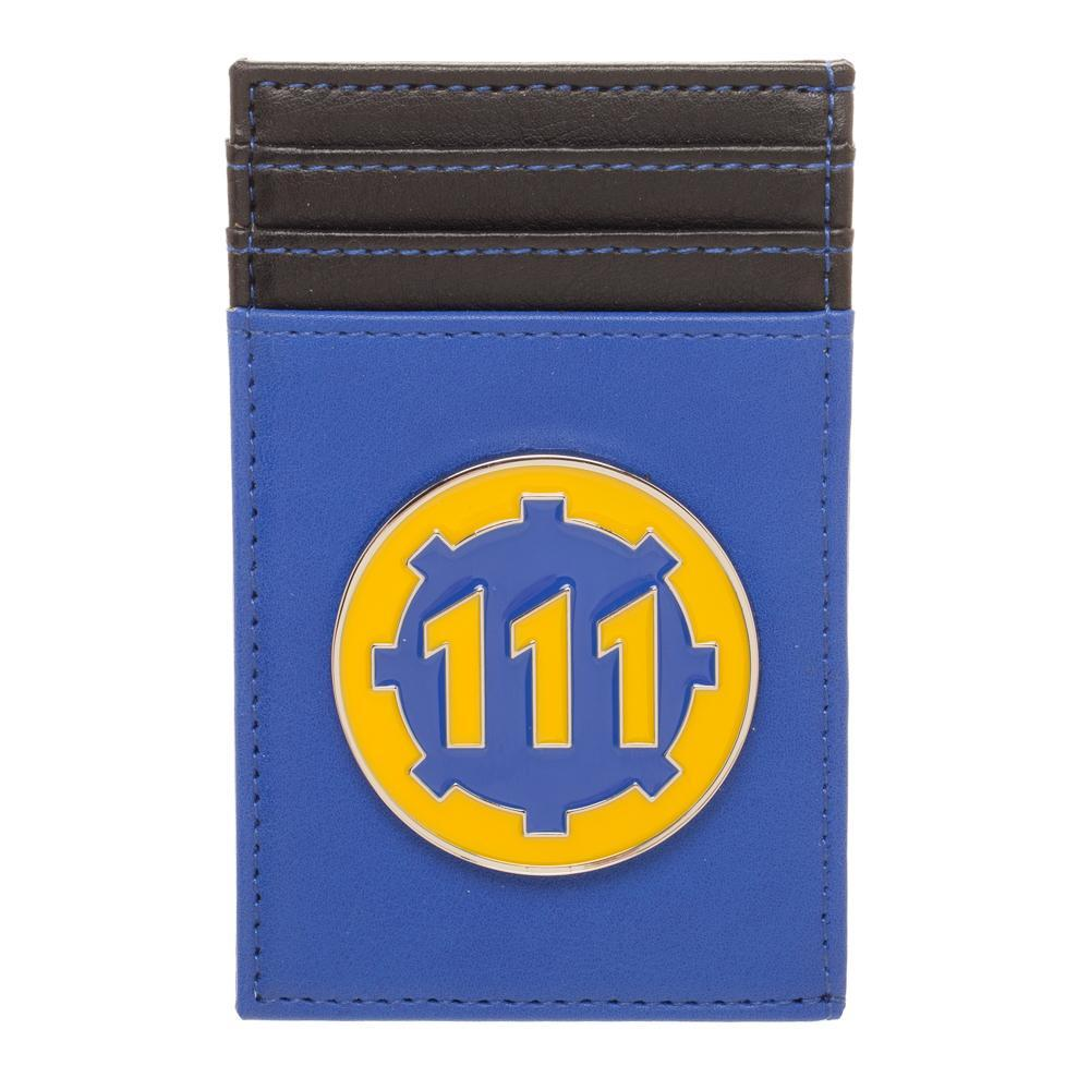Front Pocket Fallout Wallet Video Game Wallet Fallout Accessory - Wallet For Gamers Fallout Gift Gamer Wallet