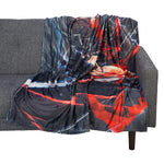 Berserk Blanket Anime Throw Blanket - Berserk Gift Berserk Accessories - Anime Gift