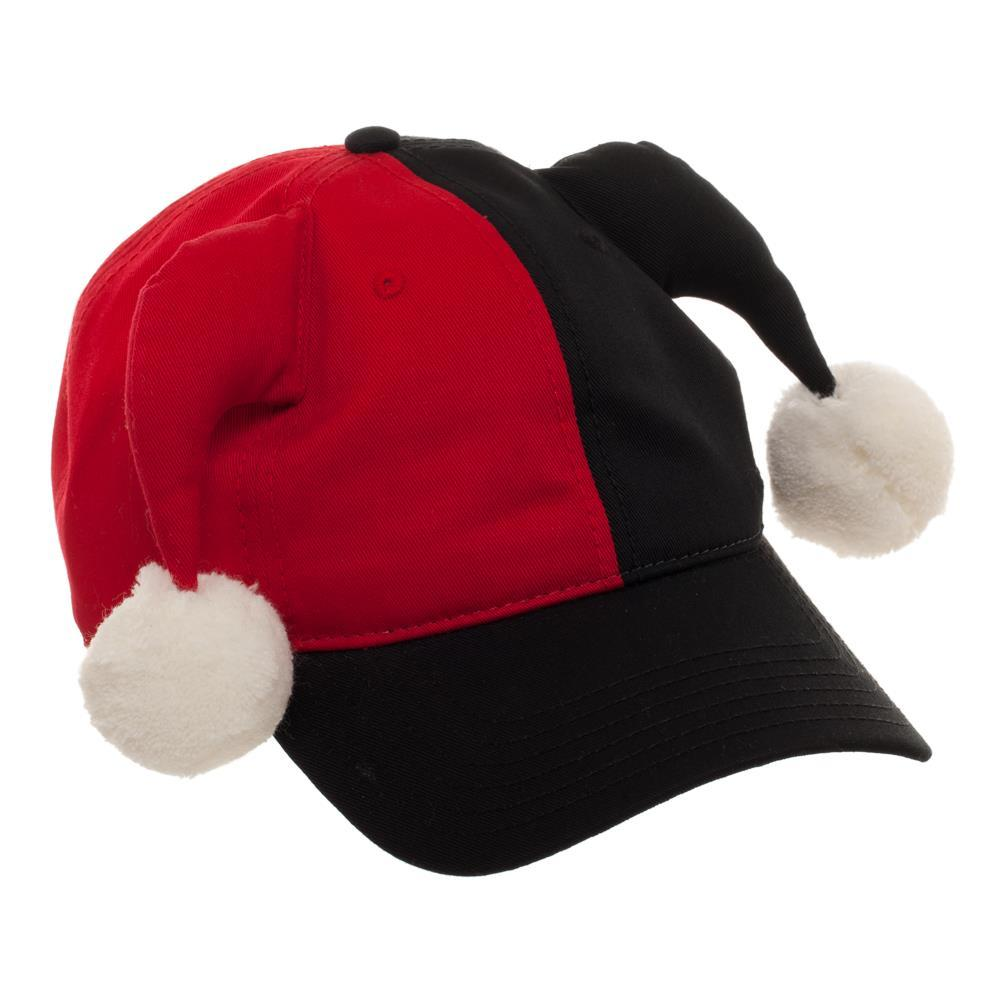 Harley Quinn Hat DC Comics Cosplay Harley Quinn Dad Hat - DC Comics Hat Harley Quinn Cosplay