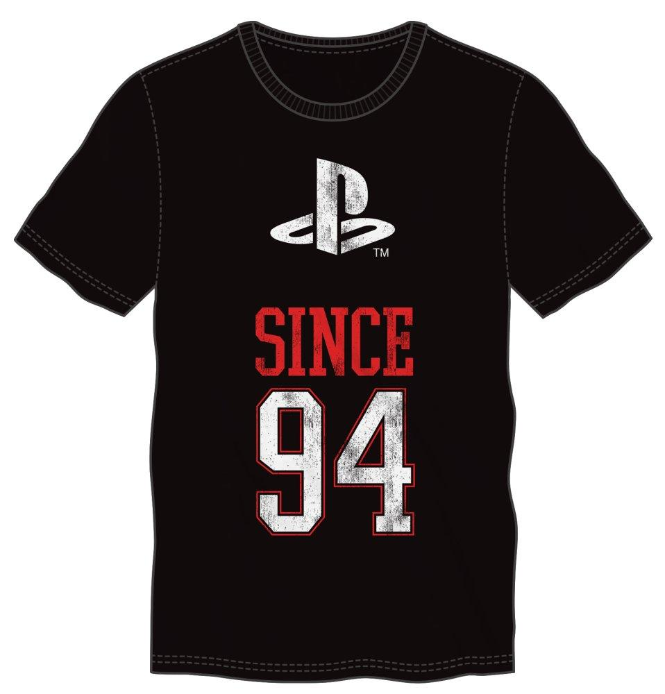 Original Playstation Since 94 1994 Men's Black T-Shirt Tee Shirt