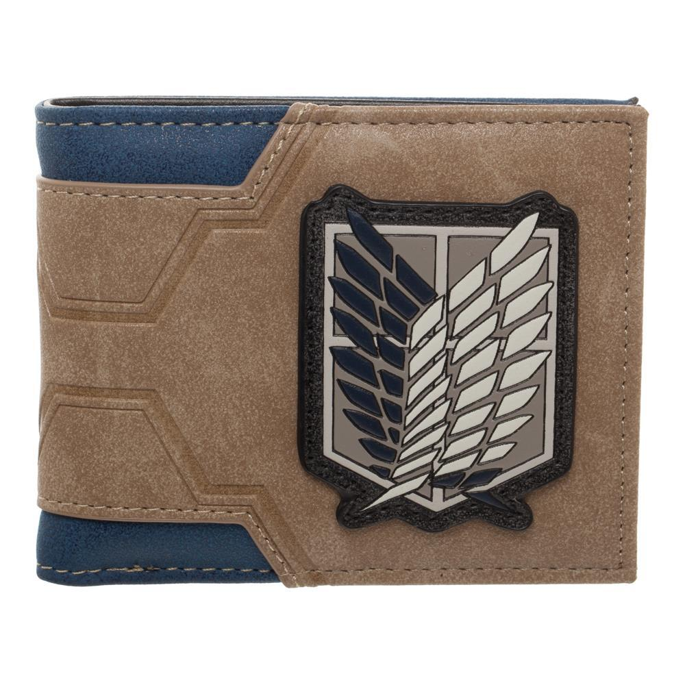 Attack on Titan BiFold Wallet Attack on TItan Accessories Anime Wallet - Attack on Titan Wallet Attack on Titan Gift