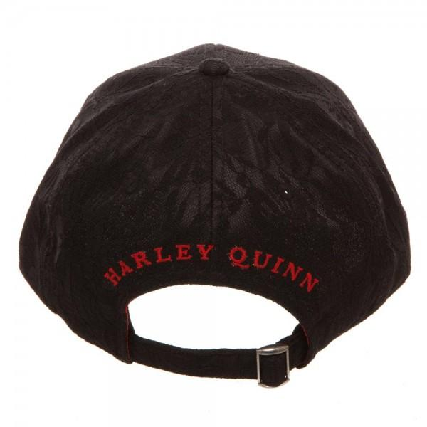 Harley Quinn Lace Dad Hat
