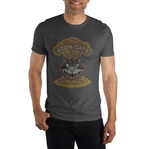 Fallout Atom Cats Faction Men's Heather T-Shirt Tee Shirt