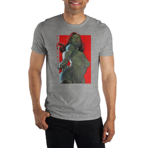 Marvel X Men Mystique Crew Neck Short Sleeve T-Shirt