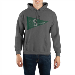 Harry Potter Slytherin Pennant Pullover Hooded Sweatshirt