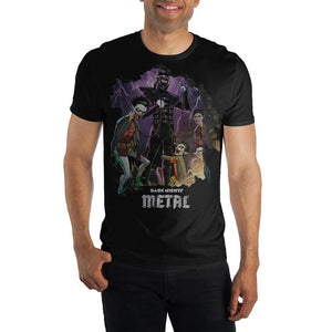 Men's Batman The Dark Knight Metal Shirt