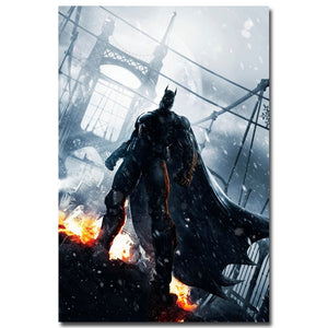 Batman Silk Poster