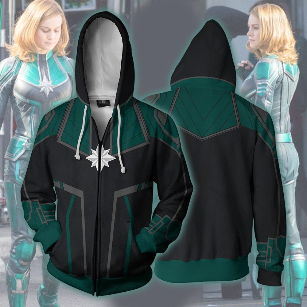Captain Marvel Starforce Hoodie