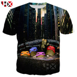 Teenage Mutant Ninja Turtles 1990 Throwback T-Shirt