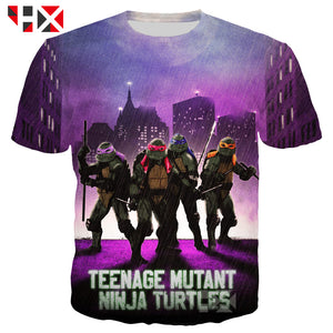 Teenage Mutant Ninja Turtles 1990 Homage T-Shirt