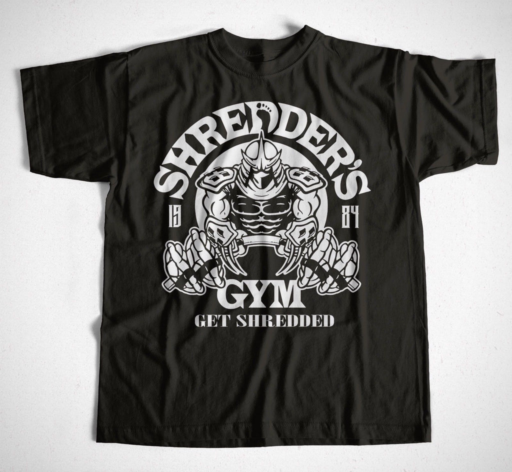 Shredder's Gym Tshirt