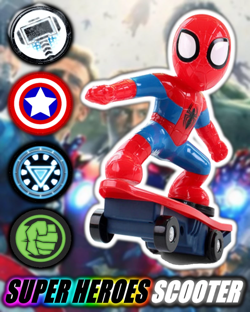MARVEL Super Heroes Scooter Toys