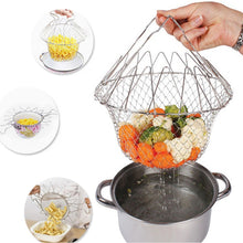 Multi-Functional Folding Cooking Basket