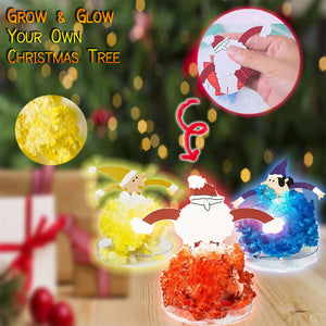 DIY Magical Santa Claus Tree