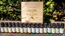 Essential Oils 16 Pack with Wood Case