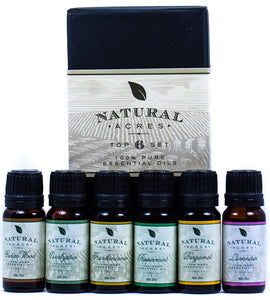Essential Oils 6 Pack