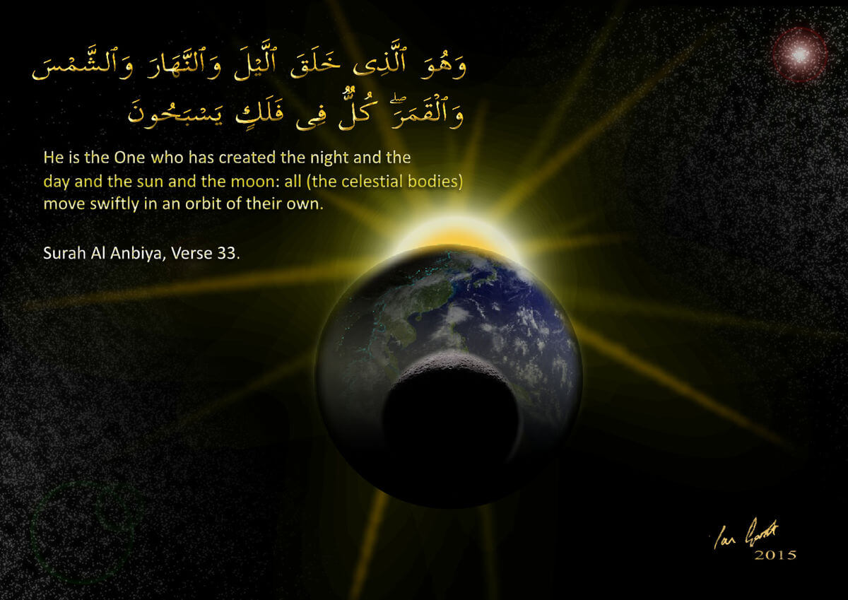 Cosmic Alignment with Surah Al Anbiya 2015