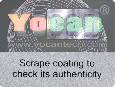 Yocan Vaping Scratch Off Authenticity Code