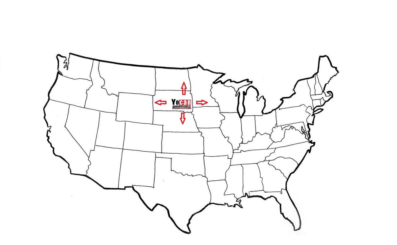 Yocan America Vaping Products Location Map