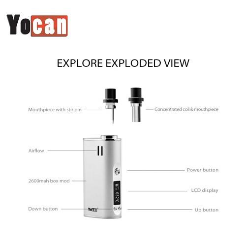 Explore Concentrate And Dry Herb Vaporizer Kit