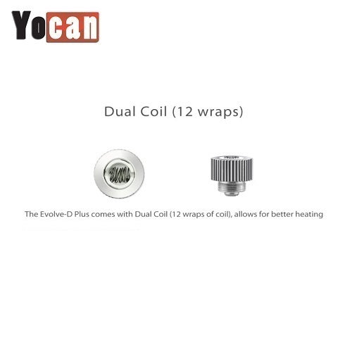 Evolve D Plus Replacement Coils
