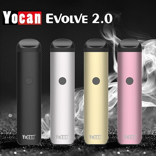 Yocan Evolve 3-In-1 Wax, Thick Oil, and E-Liquid Vape Pen Kit