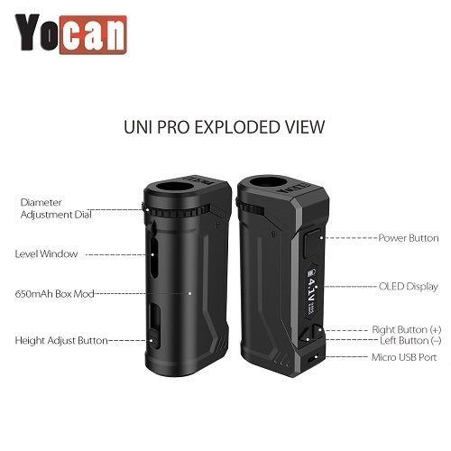 Yocan Uni Pro VV Cartridge Battery Mod