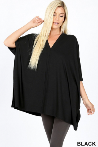 PLUS GiG Lightweight Poncho - Black