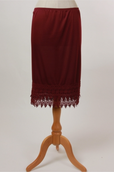 PLUS Burgundy Slip Extender